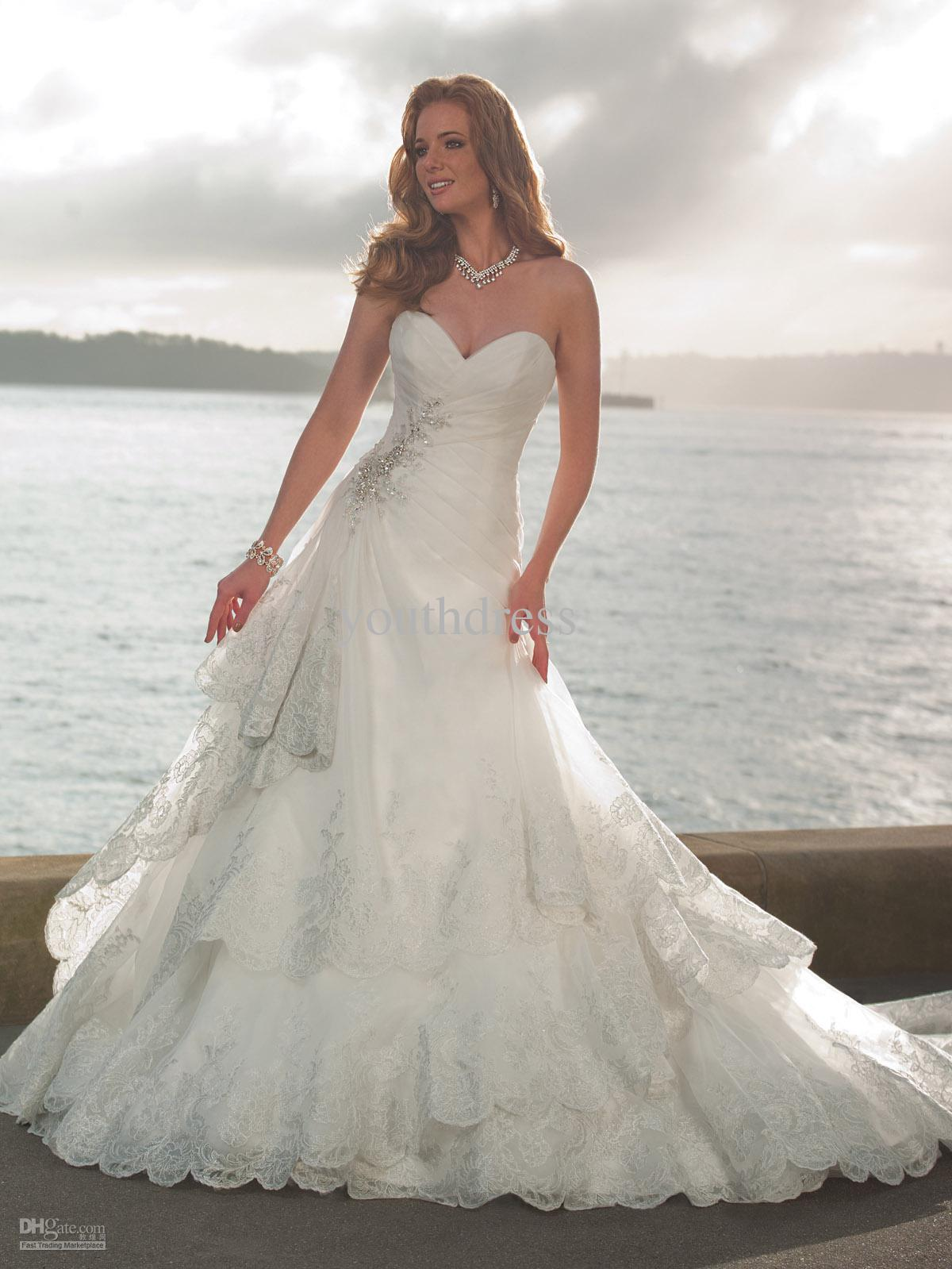 Selection of perfect beach wedding dresses steven wells blog for Best wedding dresses for beach weddings